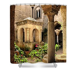 Villa Cimbrone. Ravello Shower Curtain by Jennie Breeze