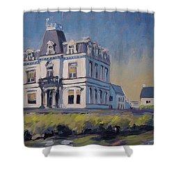 Villa Lhoest Shower Curtain