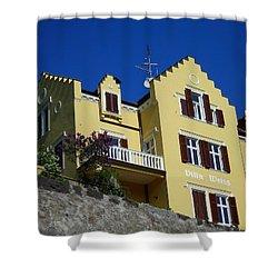 Villa Weiss Shower Curtain by Juergen Weiss