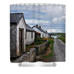 Village By The Sea Shower Curtain
