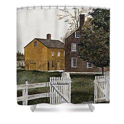 Village Gate Shower Curtain