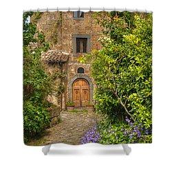 Village Lane Shower Curtain