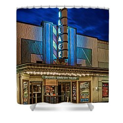 Village Theater Shower Curtain by Jerry Gammon