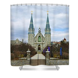 Villanova College Shower Curtain by Bill Cannon