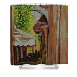 Ville Franche 11 Shower Curtain by Julie Todd-Cundiff