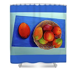 Vilma's Magical Mango's Shower Curtain