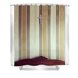 #vilnius #home #interior #wall Shower Curtain