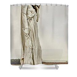 Vimy Memorial - Canada Bereft Shower Curtain