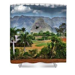 Vinales. Pinar Del Rio. Cuba Shower Curtain