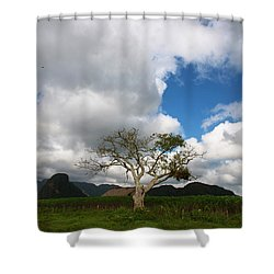 Vinales Valley I Shower Curtain