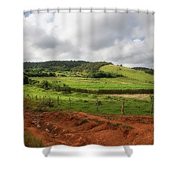 Vinales Valley Shower Curtain