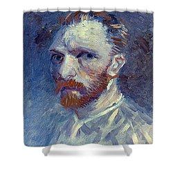 Vincent Van Gogh Shower Curtain by Granger