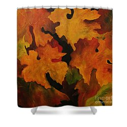 Vine Leaves Shower Curtain