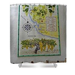 Vinedos Tio Pepe - Jerez De La Frontera Shower Curtain