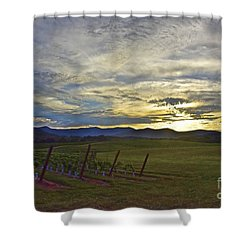 Cultivation Shower Curtain