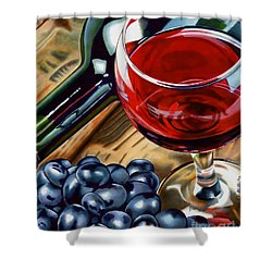 Vino 2 Shower Curtain