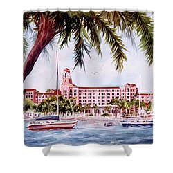 Vinoy View Shower Curtain