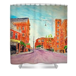 Vintage Amesbury Shower Curtain