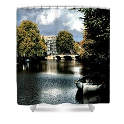 Vintage Amsterdam Shower Curtain