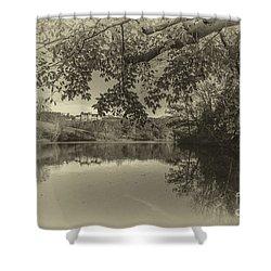 Vintage Biltmore Shower Curtain