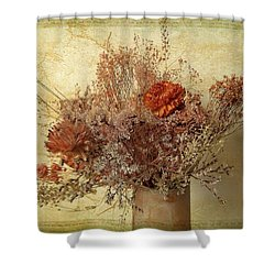 Shower Curtain featuring the photograph Vintage Bouquet by Jessica Jenney
