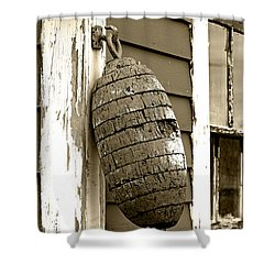 Vintage Buoy Shower Curtain