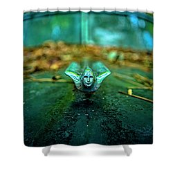 Vintage Cadillac Ornament Shower Curtain