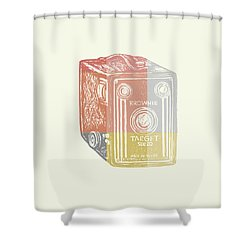 Vintage Camera 3 Shower Curtain