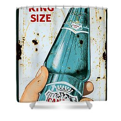 Vintage Canada Dry Sign Shower Curtain