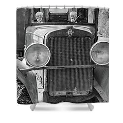 Vintage Chevrolet Shower Curtain