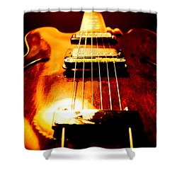 Vintage Shower Curtain by Christopher Gaston
