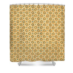 Vintage End Paper Pattern From Queen Of Spades By Alexandr Sergeevich Pushkin Shower Curtain