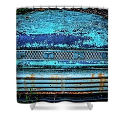 Vintage Ford Pick Up Shower Curtain