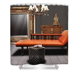 Vintage Furnitures Shower Curtain