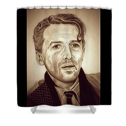 Vintage George Bailey Shower Curtain by Fred Larucci
