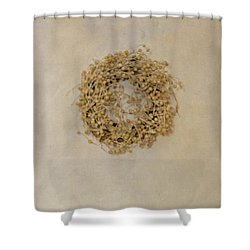 Vintage Household Scale And Vegtables Shower Curtain