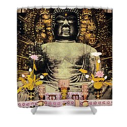 Vintage Japanese Art 24 Shower Curtain by Hawaiian Legacy Archive - Printscapes