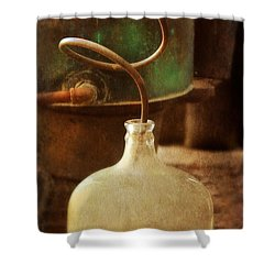 Vintage Moonshine Still Shower Curtain