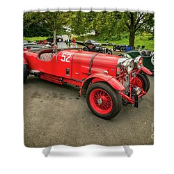 Shower Curtain featuring the photograph Vintage Motors by Adrian Evans