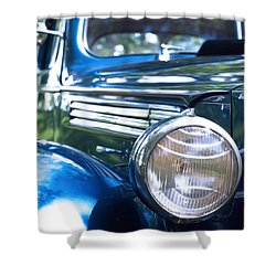 Vintage Packard Circa 1938 Shower Curtain
