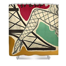 Vintage Paris Cabaret Shower Curtain by Mindy Sommers