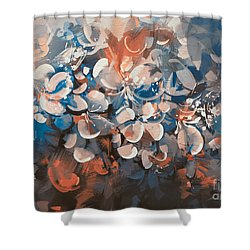 Vintage Petal Shower Curtain