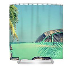 Shower Curtain featuring the photograph Vintage Summer by Delphimages Photo Creations