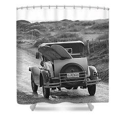 Vintage Surf Shower Curtain