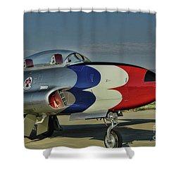Vintage Thunderbird Shower Curtain