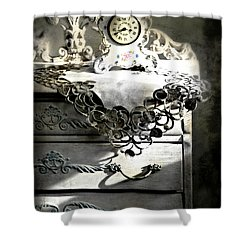 Shower Curtain featuring the photograph Vintage Time by Diana Angstadt