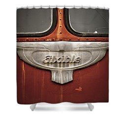 Vintage Tour Bus Shower Curtain