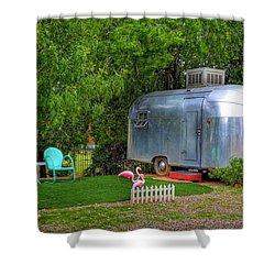 Vintage Trailer Shower Curtain