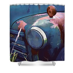 Vintage Truck Shower Curtain