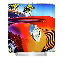 Vintage Vibrance Shower Curtain by Mark David Gerson